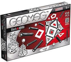 Geomag Black&White - fekete-fehér mágneses készlet - 104db