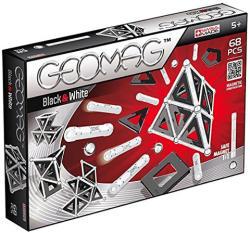 Geomag Black&White - fekete-fehér mágneses készlet - 68db