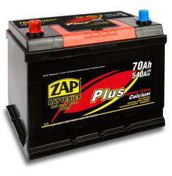 ZAP Plus Japan 70Ah 540A inversa