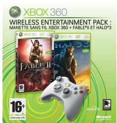 Microsoft Wireless Entertainment Pack: Halo 3 + Fable II (Xbox 360)