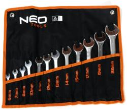 NEO TOOLS Csillag-villáskulcs készlet 12db 6-22mm (09-752)