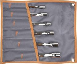 NEO TOOLS Csuklós villás-dugókulcs készlet 5db 10-19mm (09-115)