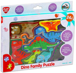 Playgo Dinó család formapuzzle (01993-0)