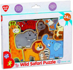 Playgo Vadállatok formapuzzle (01998-0)