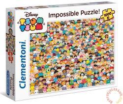 Clementoni A lehetetlen puzzle - Disney - Tsum Tsum 1000 db-os (39363)