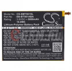Compatible Samsung LI-ION 5000 mAh EB-BT561ABE