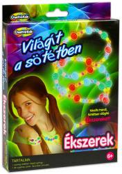 Creative Kids Sötétben világító ékszer készítő szett
