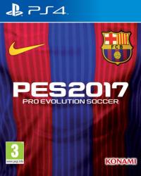 Konami PES 2017 Pro Evolution Soccer [FC Barcelona Edition] (PS4)