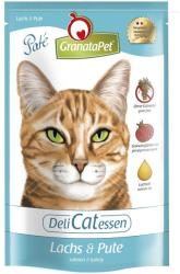 GranataPet DeliCatessen Salmon & Turkey 12x85g