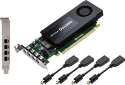 PNY Quadro K1200 4GB GDDR5 128bit PCIe (RVCQK1200DP-PB)