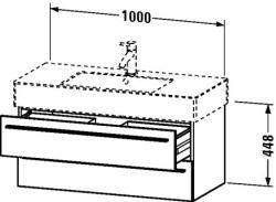 Duravit X-Large mosdó szekrény 100 6049