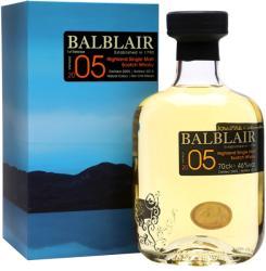 BALBLAIR 2005 Vintage Whiskey 0,7L 46%