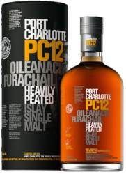BRUICHLADDICH PC12 Port Charlotte Heavily Peated Whiskey 0,7L 58,7%