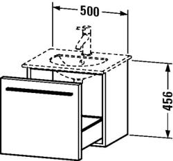 Duravit X-Large mosdó szekrény 50 6060