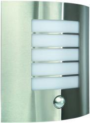 Massive - Philips Oslo kültéri fali lámpa, mozgásérzékelővel, inox 17014/47/10
