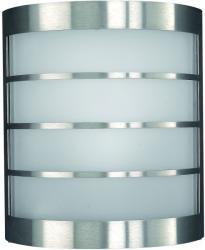 Massive - Philips Calgary kültéri fali lámpa, inox 17173/47/10