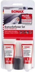 SONAX KratzerEntfernerSet Lack - karceltávolító szett 50ml