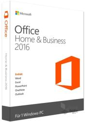 Microsoft Office 2016 Home & Business GER T5D-02808