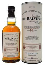 THE BALVENIE 14 Years Caribbean Cask Whiskey 0,7L 43%