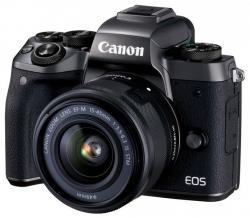 Canon EOS M5 + 15-45mm IS STM Digitális fényképezőgép
