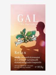 GAL Relax citromfű-kivonat és L-teanin tartalmú kapszula - 60 db
