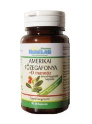 Nutrilab Amerikai tőzegáfonya+D mannóz kapszula - 30 db