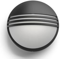 Massive - Philips Yarrow kültéri fali lámpa, fekete 17296/30/16