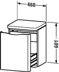Duravit PuraVida gurulós szekrény 9203