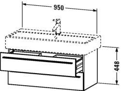 Duravit X-Large mosdó szekrény 95 6346