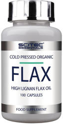 Scitec Nutrition Flax lignan tartalmú lenmagolaj kapszula - 100 db