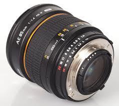Samyang AE 85mm f/1.4 IF UMC (Nikon)