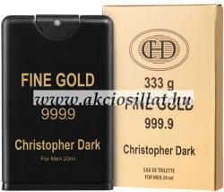 Christopher Dark Fine Gold EDT 20ml