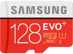 Samsung MicroSDHC EVO+ 128GB Class 10 UHS-1 MB-MC128D