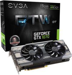 EVGA GeForce GTX 1070 FTW DT GAMING ACX 3.0 8GB GDDR5 PCIe (08G-P4-6274-KR)