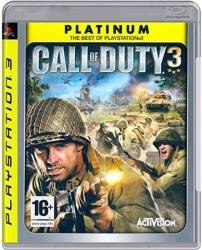 Activision Call of Duty 3 [Platinum] (PS3)