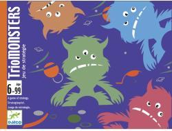 DJECO TrioMonsters - stratégiai kártyajáték