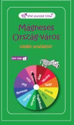 the purple cow Ország-város - mágneses