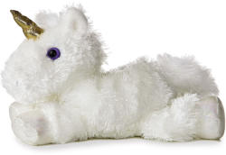 Aurora Mini Flopsie - fehér unikornis 20cm