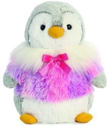 Aurora Pompom pingvin rózsaszín kabátkában 30cm