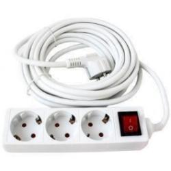 KUPER 3 Plug 1,5m Switch (KP-3PK-1-5M-WH)
