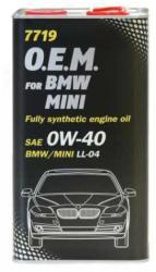 MANNOL 7719-4ME O.E.M for BMW Mini 0W-30 4L