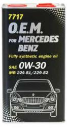 MANNOL 7717-4ME O.E.M for Mercedes-Benz 0W-30 4L