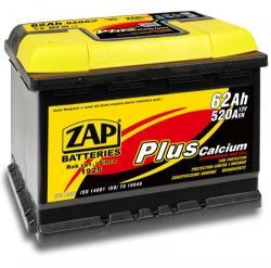 ZAP Plus 62Ah 520A inversa