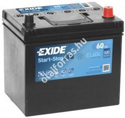 Exide ECM EL604 60Ah 520A Jobb+ (EL604)