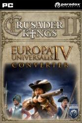 Paradox Crusader Kings II Europa Universalis IV Converter DLC (PC)