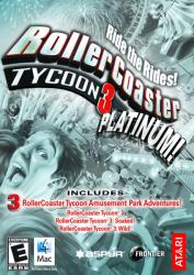 Atari RollerCoaster Tycoon 3 Platinum (PC)