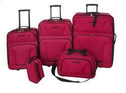 vidaXL Комплект от 5 броя куфари 9015
