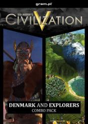 2K Games Sid Meier's Civilization V Denmark and Explorer's Combo Pack (PC)