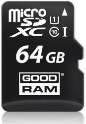 GOODRAM MicroSDHC 64GB Class 10 SDU64GXCUHS1AGRR10