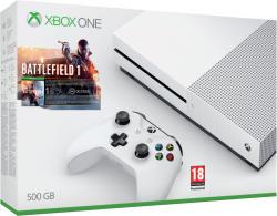 Microsoft Xbox One S (Slim) 500GB + Battlefield 1
